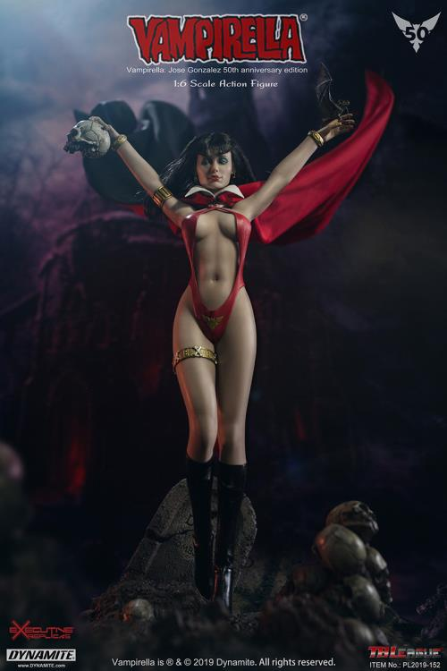 female - NEW PRODUCT: TBLeague: 1/6 bloodsucking red face - Vampirella 50th Anniversary Edition (#PL2019-152) 21182210