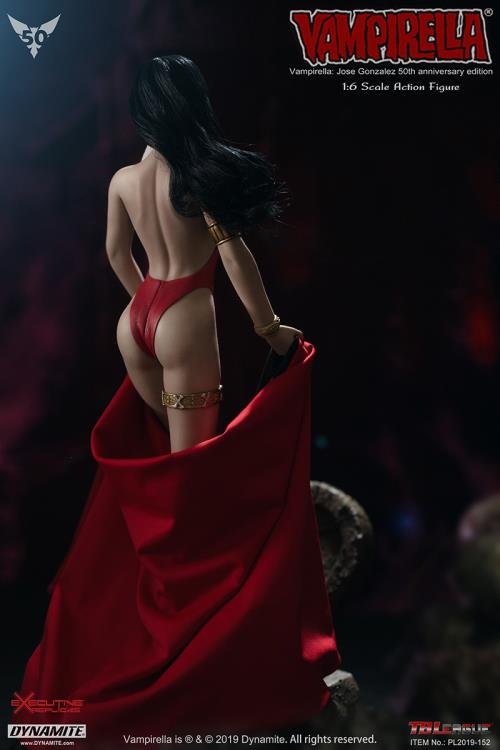 female - NEW PRODUCT: TBLeague: 1/6 bloodsucking red face - Vampirella 50th Anniversary Edition (#PL2019-152) 21182810