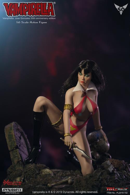 horror - NEW PRODUCT: TBLeague: 1/6 bloodsucking red face - Vampirella 50th Anniversary Edition (#PL2019-152) 21182910