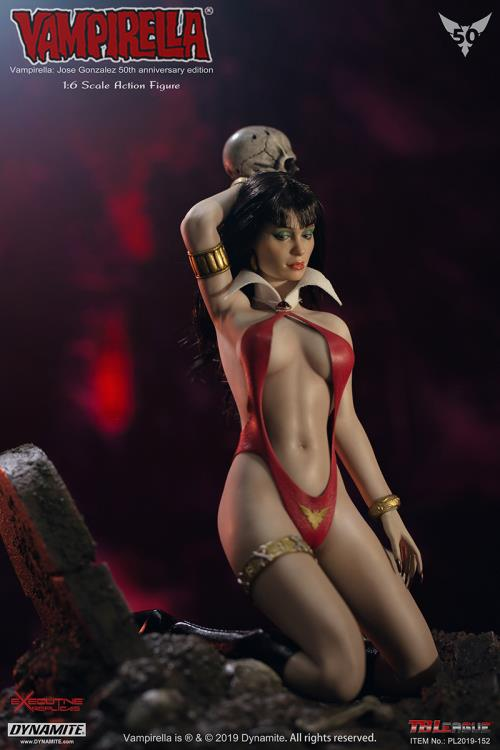 fantasy - NEW PRODUCT: TBLeague: 1/6 bloodsucking red face - Vampirella 50th Anniversary Edition (#PL2019-152) 21183010