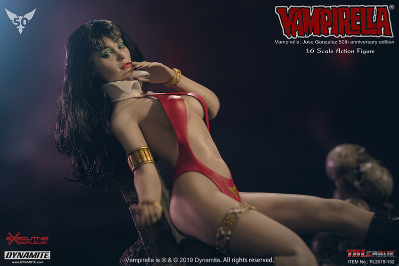 female - NEW PRODUCT: TBLeague: 1/6 bloodsucking red face - Vampirella 50th Anniversary Edition (#PL2019-152) 21185010