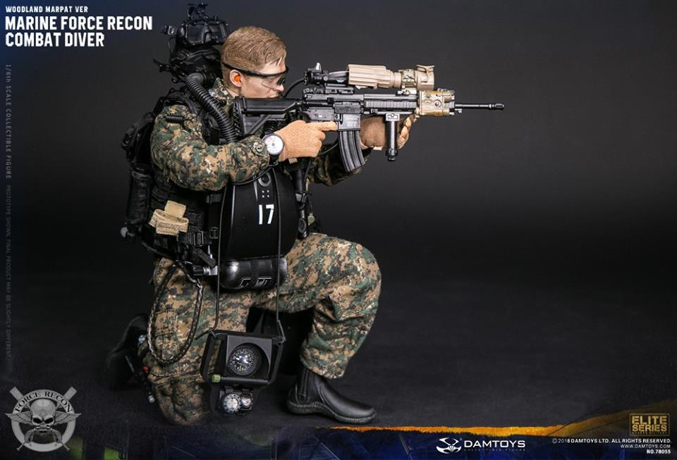DamToys - NEW PRODUCT: DAM Toys: Marine Force Recon Combat Diver (Desert MARPAT) (GIDAM-78056) & (Woodland MARPAT) (GIDAM-78055) 2119