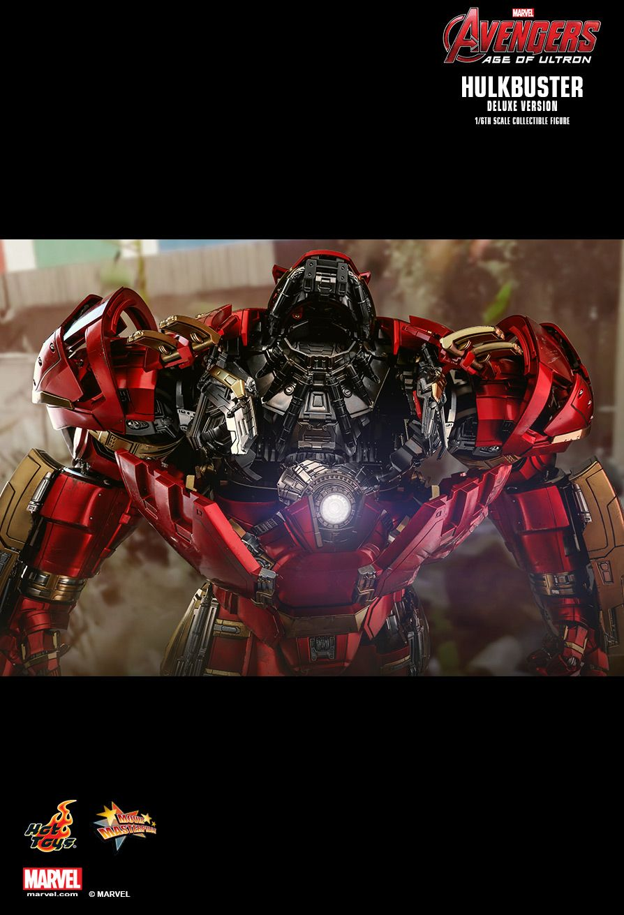 NEW PRODUCT: HOT TOYS: AVENGERS: AGE OF ULTRON HULKBUSTER (DELUXE VERSION) 1/6TH SCALE COLLECTIBLE FIGURE 2121