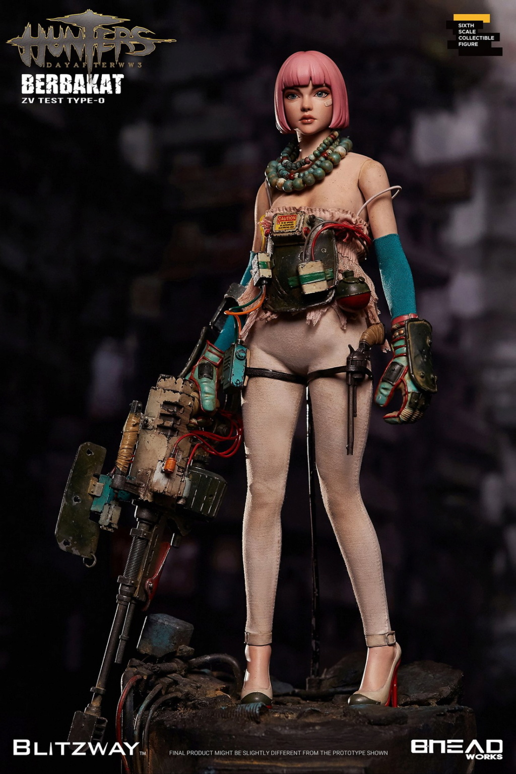 MemoryDeviceGirl - NEW PRODUCT: BLITZWAY X BHEADworks New: 1/6 HUNTERS : Day After WWlll – Memory Device Girl 21212810