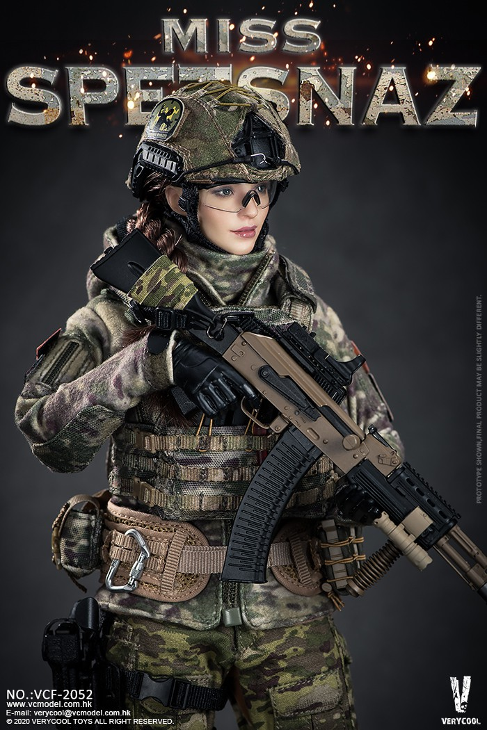 Female - NEW PRODUCT: VERYCOOL: 1/6 Miss Spetsnaz: Russian Special Combat Russian special combat female action figure (#VCF-2052) 21242210