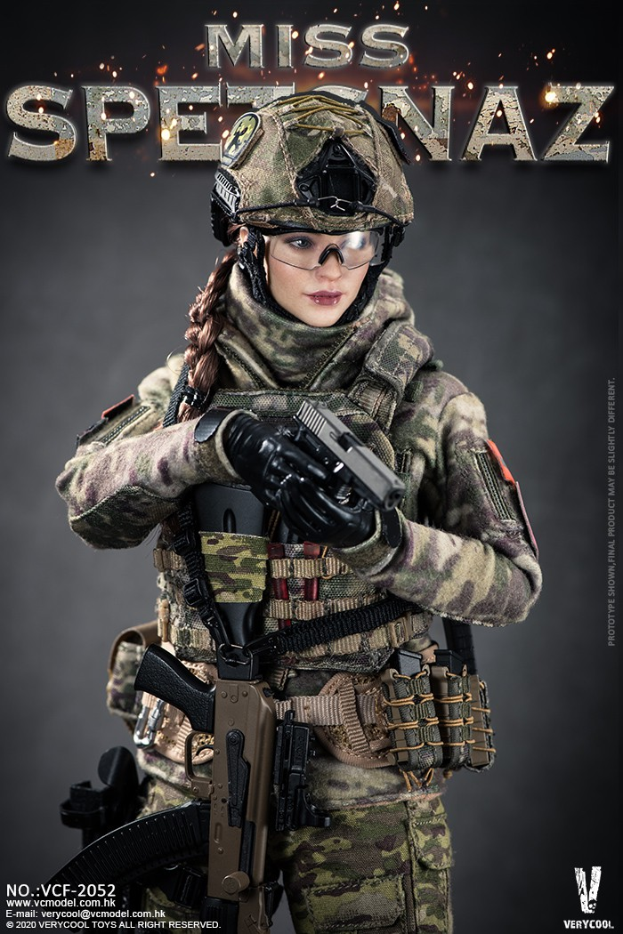 Female - NEW PRODUCT: VERYCOOL: 1/6 Miss Spetsnaz: Russian Special Combat Russian special combat female action figure (#VCF-2052) 21250910