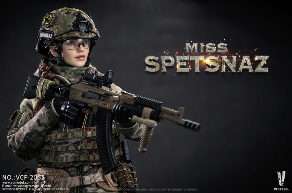 Female - NEW PRODUCT: VERYCOOL: 1/6 Miss Spetsnaz: Russian Special Combat Russian special combat female action figure (#VCF-2052) 21252710