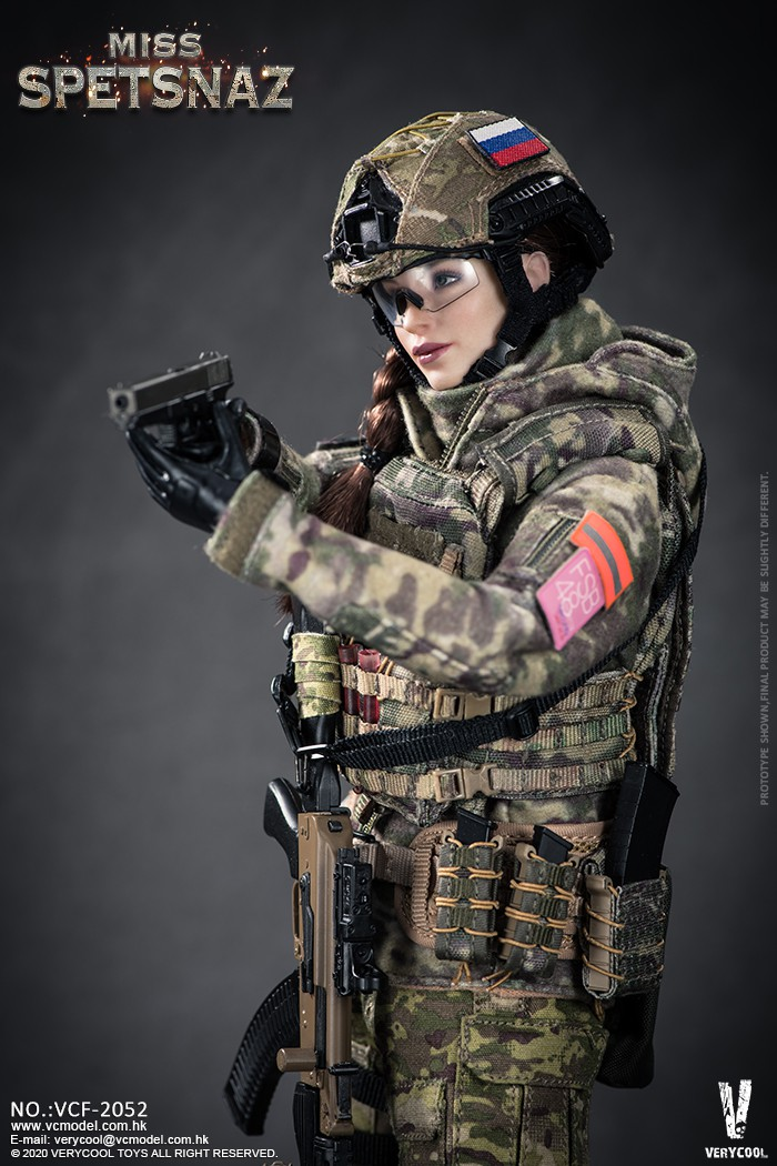 Female - NEW PRODUCT: VERYCOOL: 1/6 Miss Spetsnaz: Russian Special Combat Russian special combat female action figure (#VCF-2052) 21254710