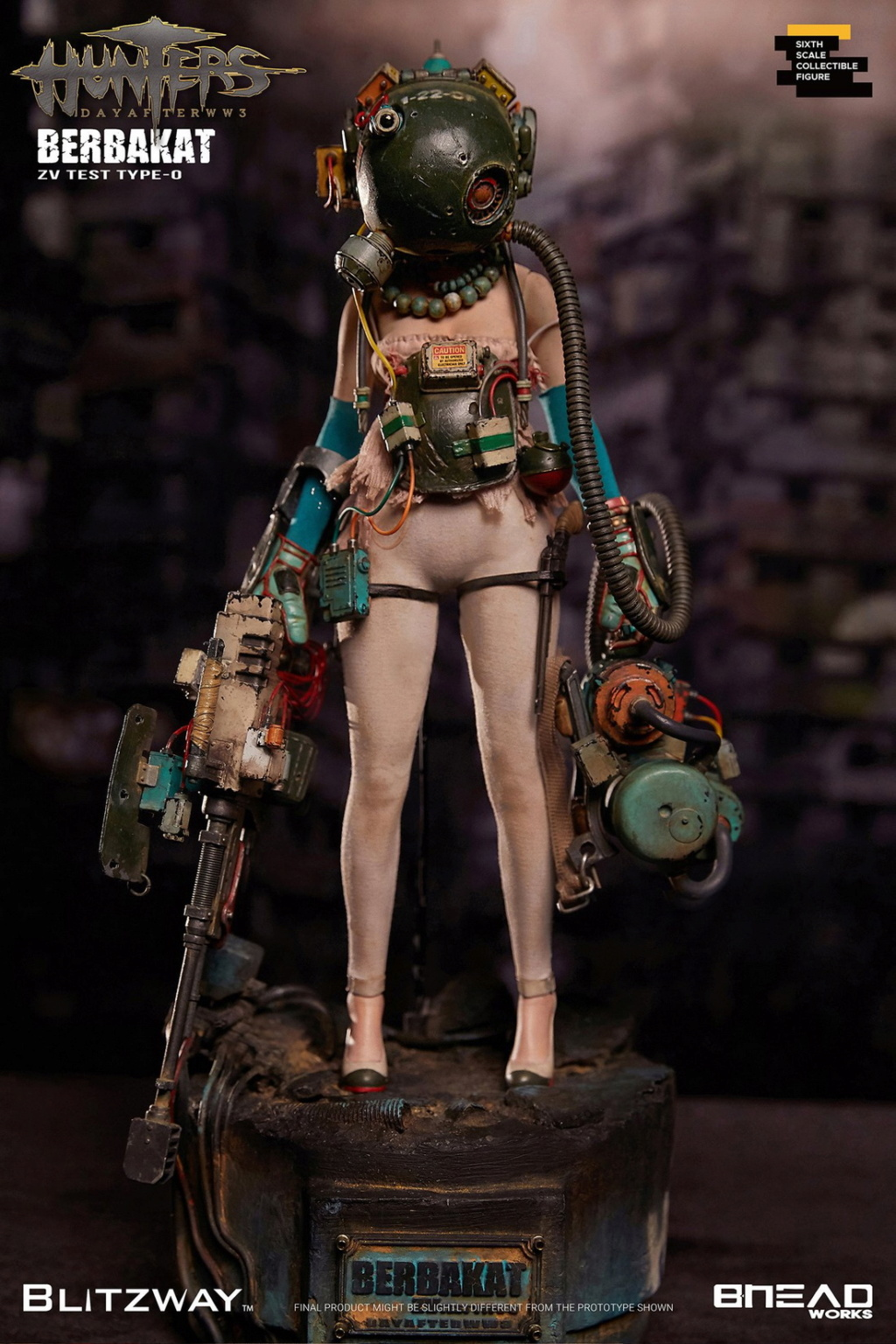 MemoryDeviceGirl - NEW PRODUCT: BLITZWAY X BHEADworks New: 1/6 HUNTERS : Day After WWlll – Memory Device Girl 21261510