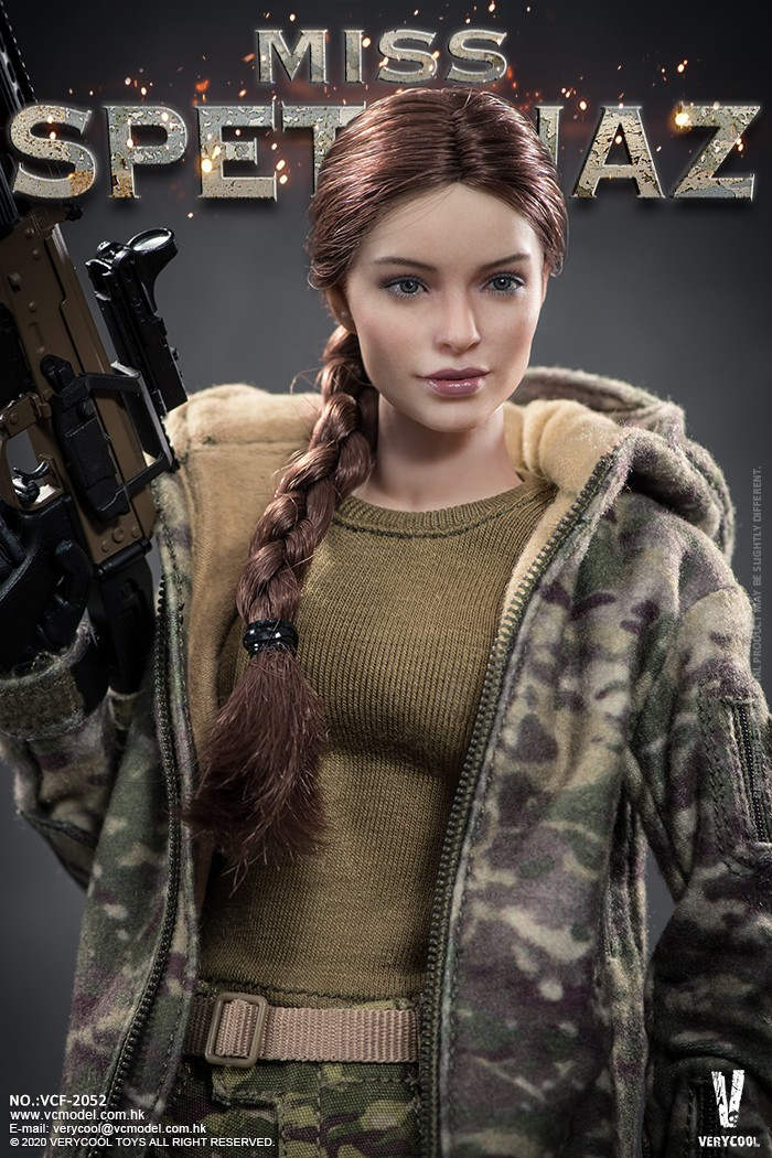 Female - NEW PRODUCT: VERYCOOL: 1/6 Miss Spetsnaz: Russian Special Combat Russian special combat female action figure (#VCF-2052) 21262110