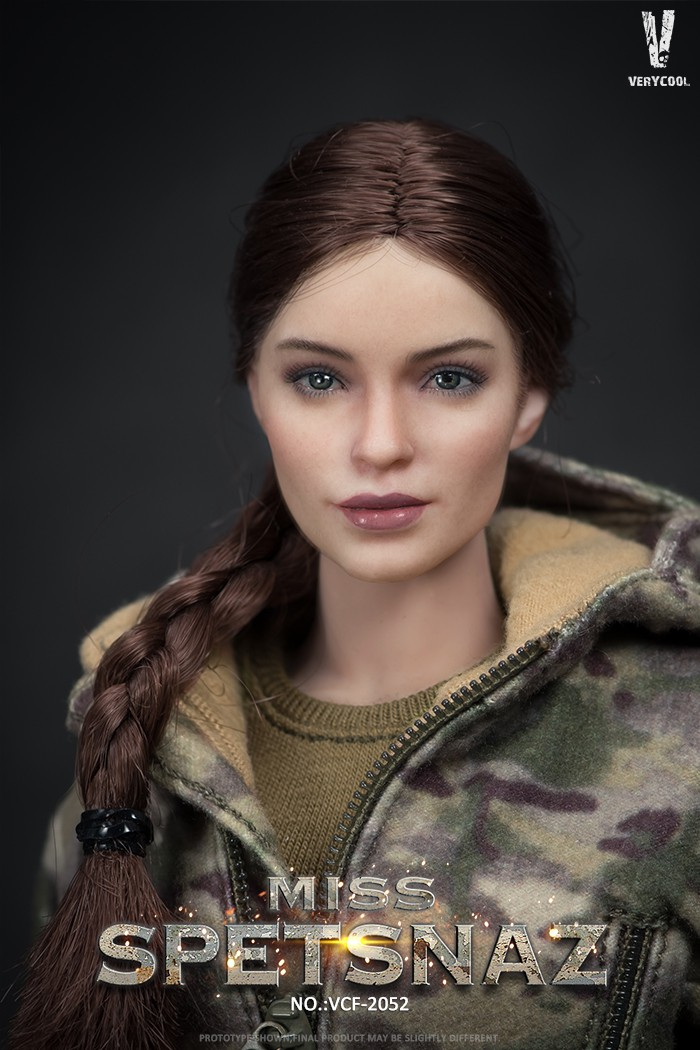 Female - NEW PRODUCT: VERYCOOL: 1/6 Miss Spetsnaz: Russian Special Combat Russian special combat female action figure (#VCF-2052) 21270211