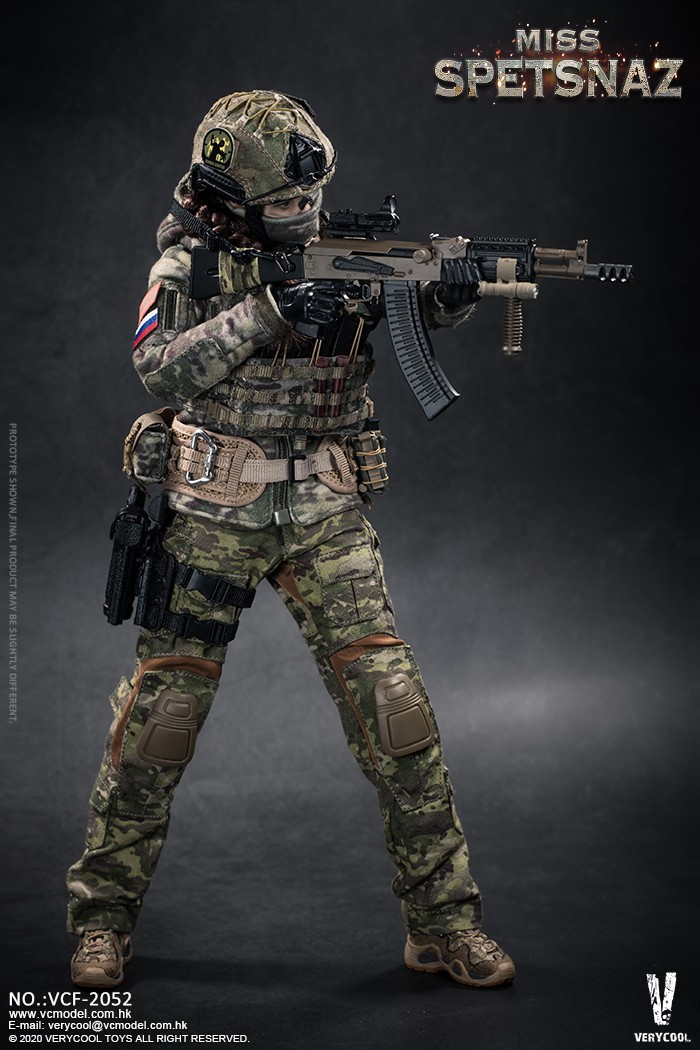 Female - NEW PRODUCT: VERYCOOL: 1/6 Miss Spetsnaz: Russian Special Combat Russian special combat female action figure (#VCF-2052) 21273510