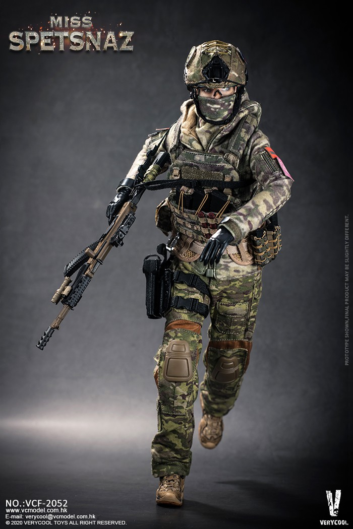Female - NEW PRODUCT: VERYCOOL: 1/6 Miss Spetsnaz: Russian Special Combat Russian special combat female action figure (#VCF-2052) 21275510