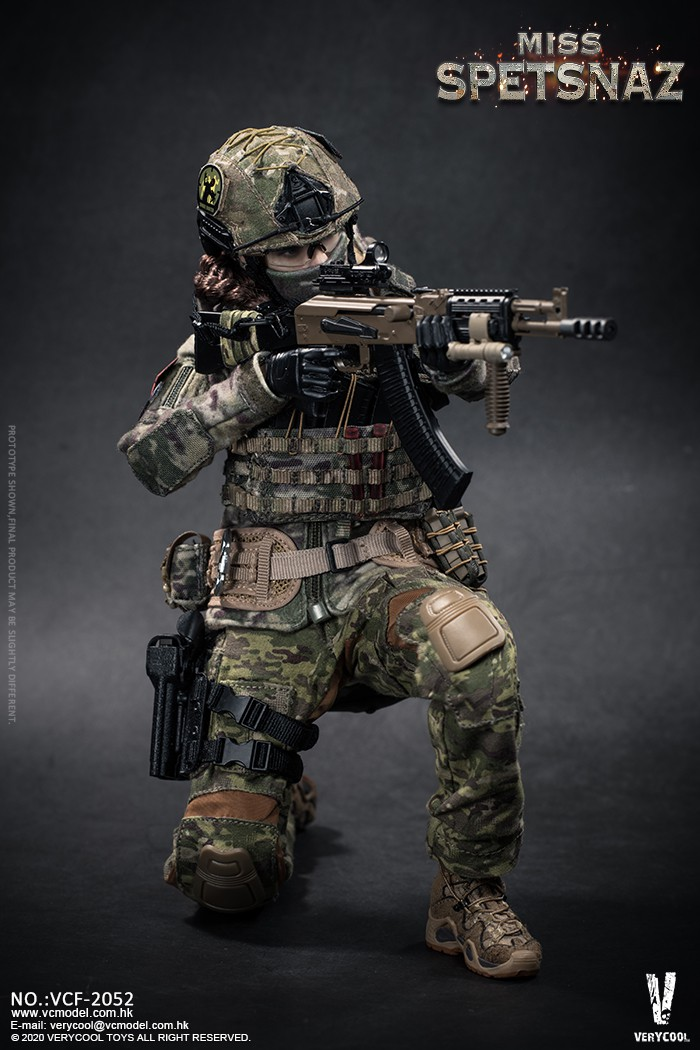 Female - NEW PRODUCT: VERYCOOL: 1/6 Miss Spetsnaz: Russian Special Combat Russian special combat female action figure (#VCF-2052) 21282010