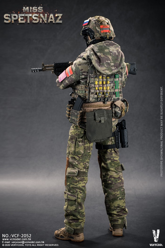 Female - NEW PRODUCT: VERYCOOL: 1/6 Miss Spetsnaz: Russian Special Combat Russian special combat female action figure (#VCF-2052) 21284110