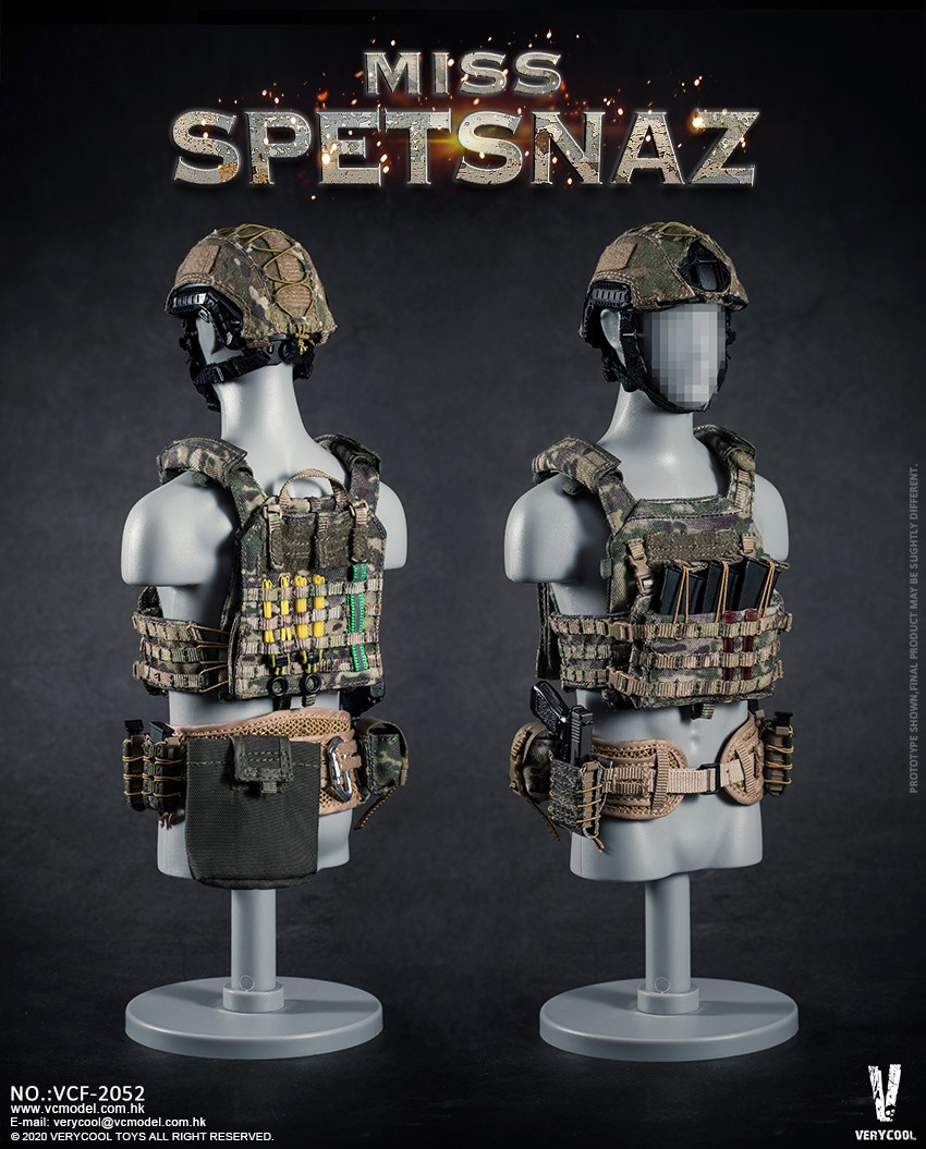 Female - NEW PRODUCT: VERYCOOL: 1/6 Miss Spetsnaz: Russian Special Combat Russian special combat female action figure (#VCF-2052) 21303910
