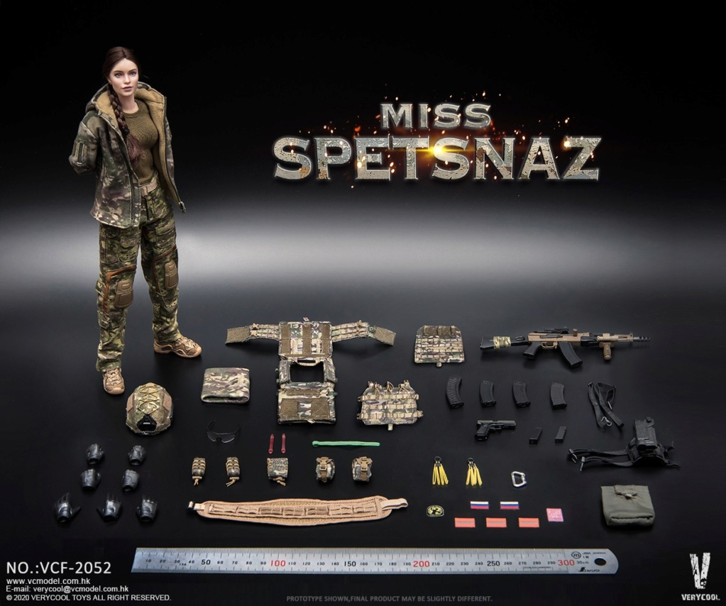 Female - NEW PRODUCT: VERYCOOL: 1/6 Miss Spetsnaz: Russian Special Combat Russian special combat female action figure (#VCF-2052) 21311210