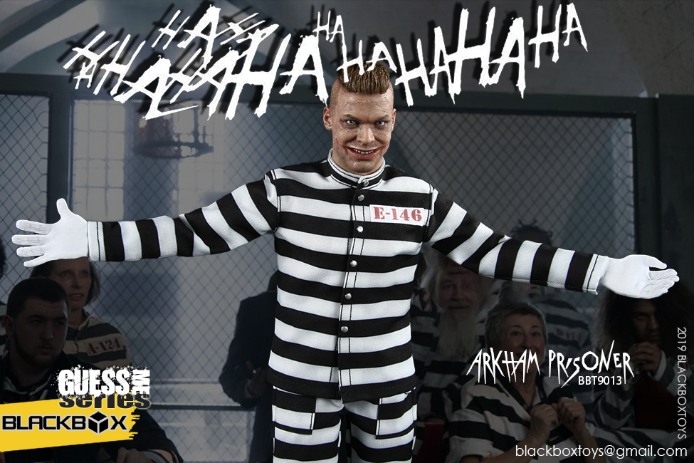 "TV-based - NEW PRODUCT: BLACKBOX: 1/6 Guess Me series - ""Arkham's prisoner - Gotham Jerome"" BBT9013 21321410"