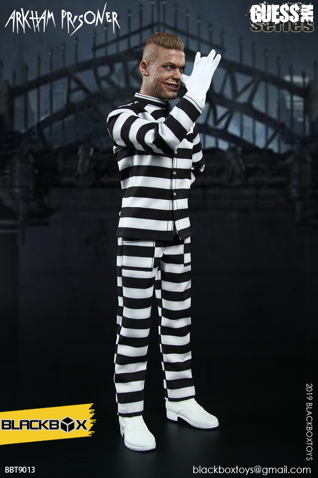 "TV-based - NEW PRODUCT: BLACKBOX: 1/6 Guess Me series - ""Arkham's prisoner - Gotham Jerome"" BBT9013 21321510"