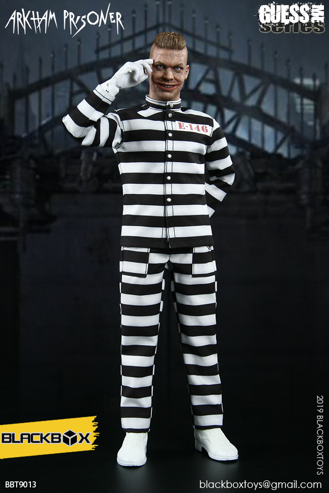 "TV-based - NEW PRODUCT: BLACKBOX: 1/6 Guess Me series - ""Arkham's prisoner - Gotham Jerome"" BBT9013 21321511"