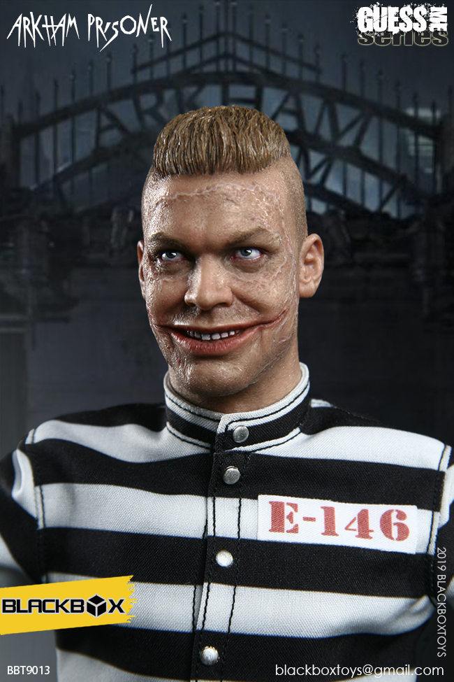 "TV-based - NEW PRODUCT: BLACKBOX: 1/6 Guess Me series - ""Arkham's prisoner - Gotham Jerome"" BBT9013 21321610"