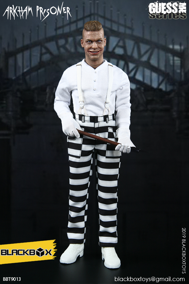 "TV-based - NEW PRODUCT: BLACKBOX: 1/6 Guess Me series - ""Arkham's prisoner - Gotham Jerome"" BBT9013 21321810"