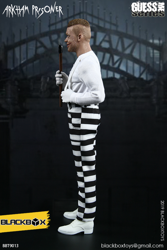 "TV-based - NEW PRODUCT: BLACKBOX: 1/6 Guess Me series - ""Arkham's prisoner - Gotham Jerome"" BBT9013 21321910"