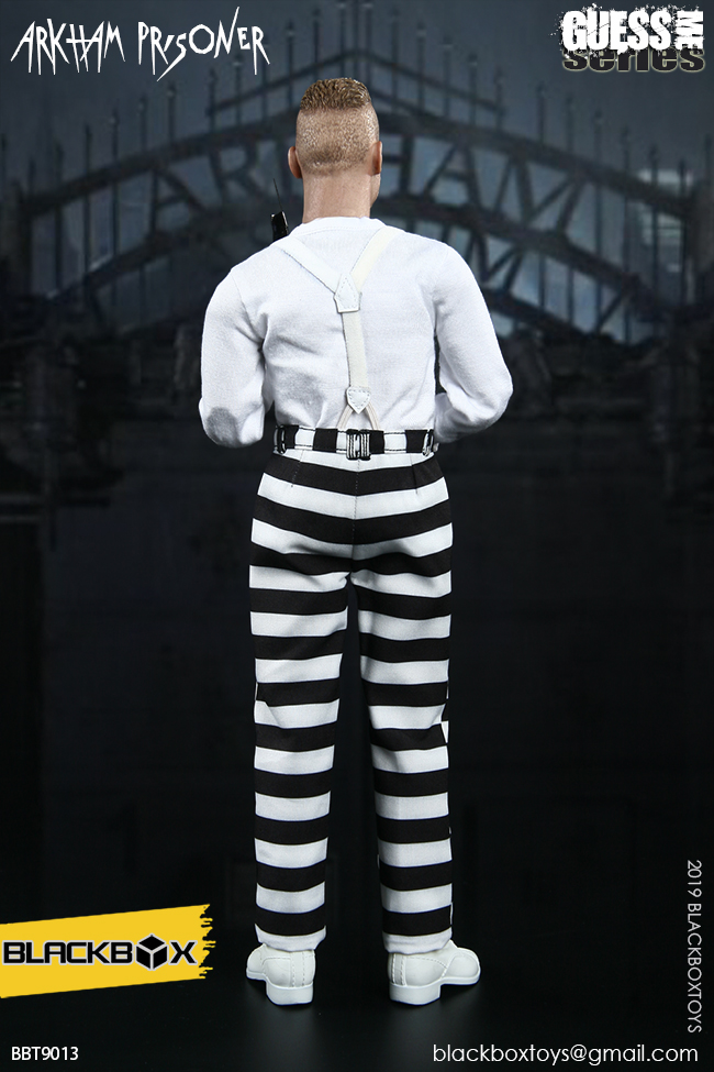 "TV-based - NEW PRODUCT: BLACKBOX: 1/6 Guess Me series - ""Arkham's prisoner - Gotham Jerome"" BBT9013 21321911"