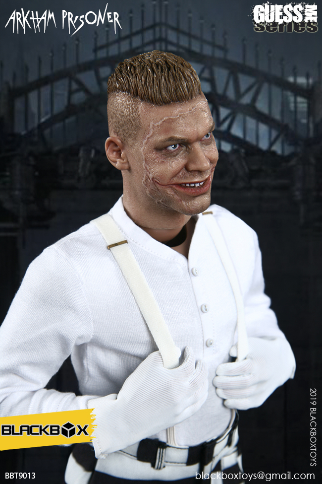 "TV-based - NEW PRODUCT: BLACKBOX: 1/6 Guess Me series - ""Arkham's prisoner - Gotham Jerome"" BBT9013 21322211"