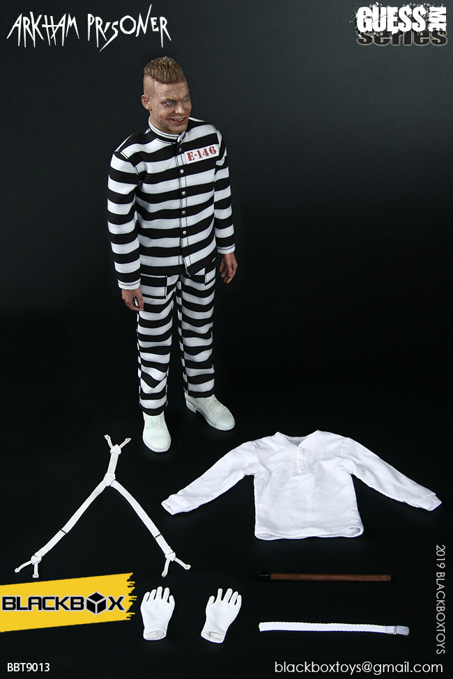 "TV-based - NEW PRODUCT: BLACKBOX: 1/6 Guess Me series - ""Arkham's prisoner - Gotham Jerome"" BBT9013 21322610"