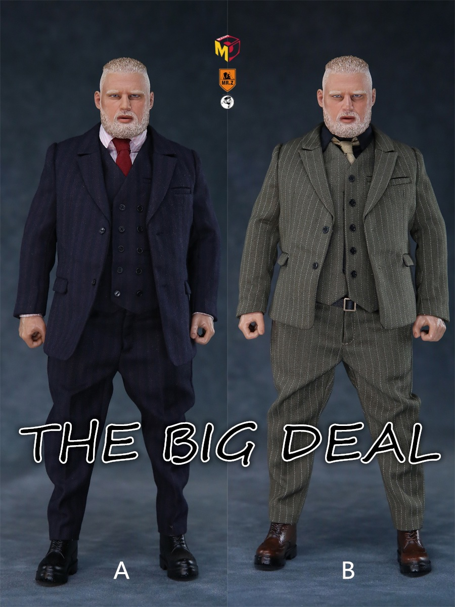 MCCCToys - NEW PRODUCT: MCCToys x Mr.Z: 1/6 Z's mini closet series - big suit version, windbreaker version, casual version 21344410
