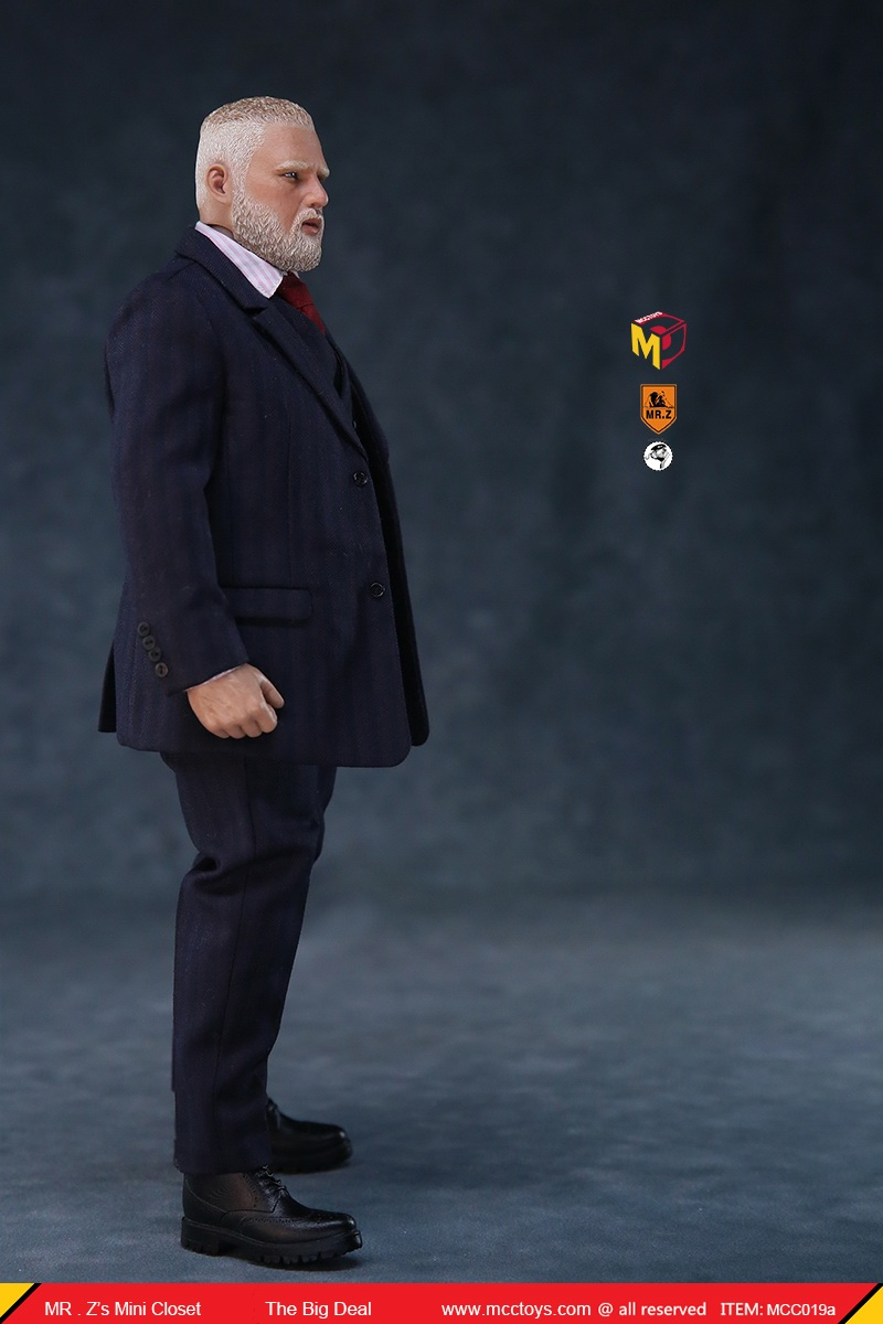 MCCCToys - NEW PRODUCT: MCCToys x Mr.Z: 1/6 Z's mini closet series - big suit version, windbreaker version, casual version 21345110