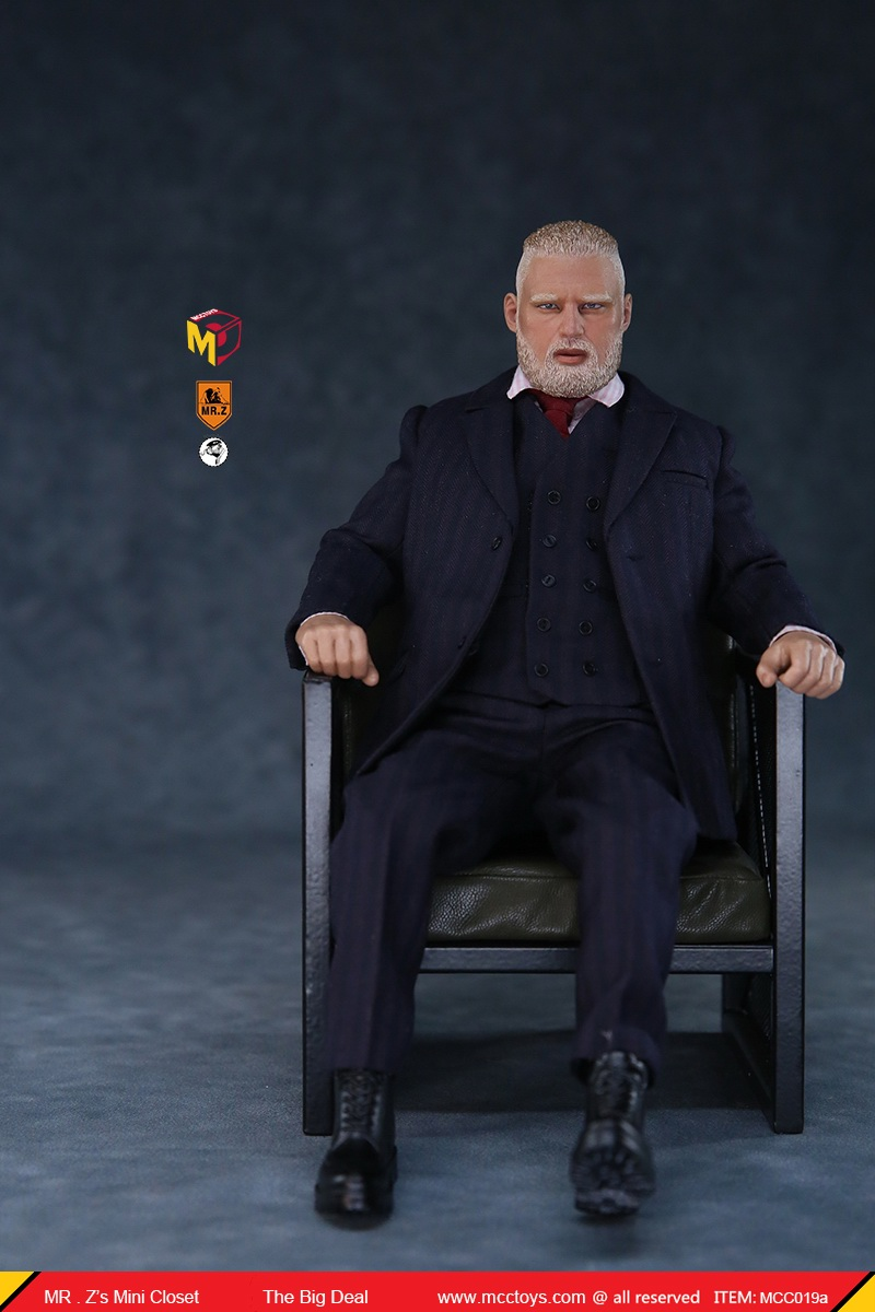 MCCCToys - NEW PRODUCT: MCCToys x Mr.Z: 1/6 Z's mini closet series - big suit version, windbreaker version, casual version 21345710