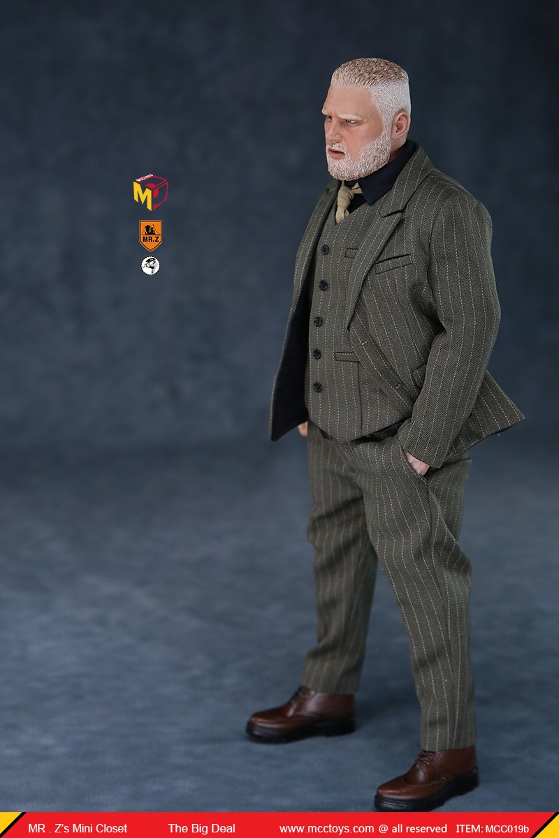 MCCCToys - NEW PRODUCT: MCCToys x Mr.Z: 1/6 Z's mini closet series - big suit version, windbreaker version, casual version 21382412
