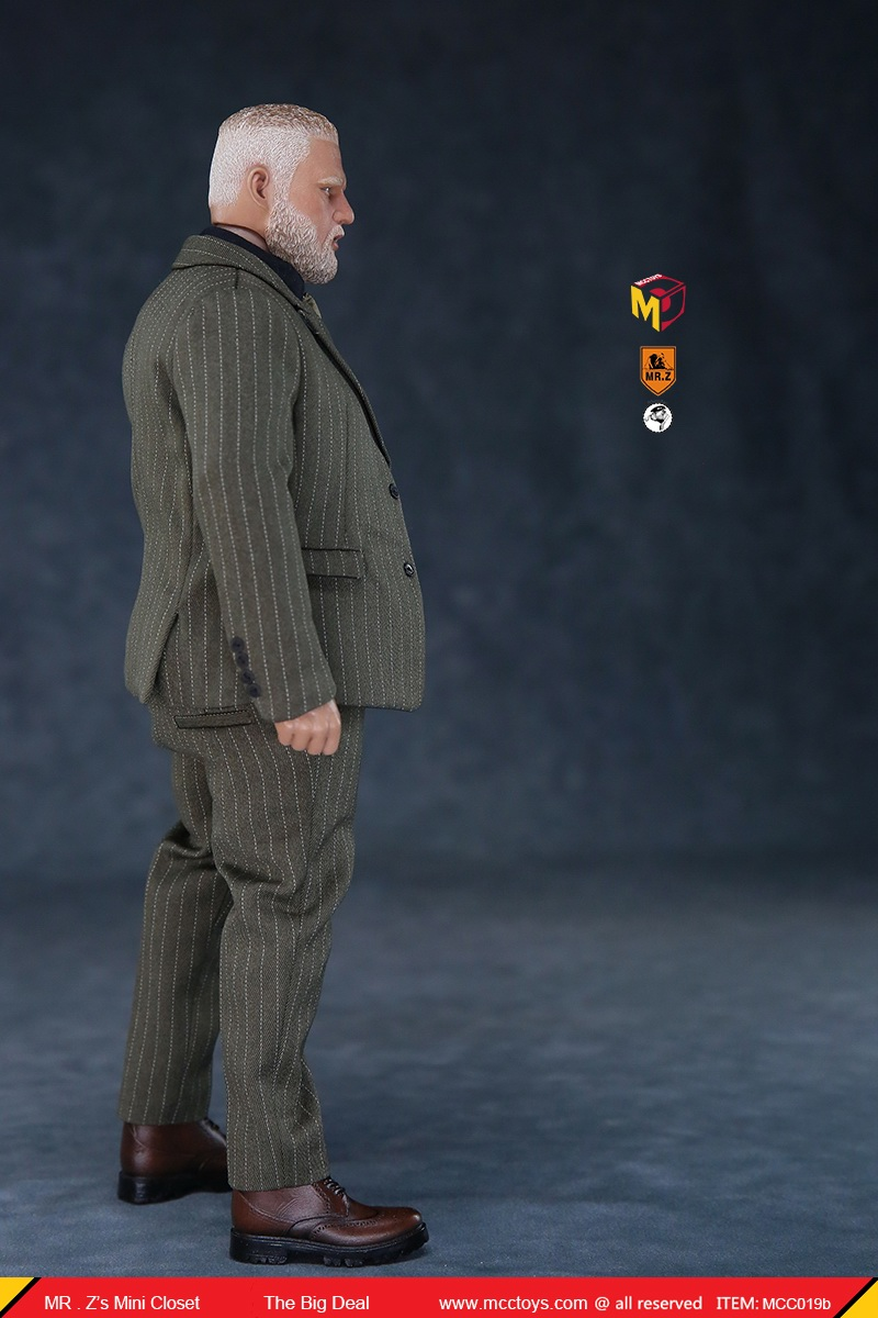 MCCCToys - NEW PRODUCT: MCCToys x Mr.Z: 1/6 Z's mini closet series - big suit version, windbreaker version, casual version 21382611