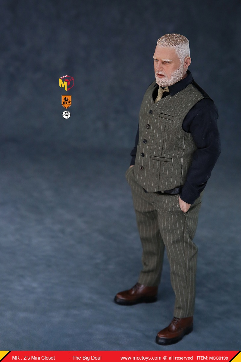 MCCCToys - NEW PRODUCT: MCCToys x Mr.Z: 1/6 Z's mini closet series - big suit version, windbreaker version, casual version 21383310