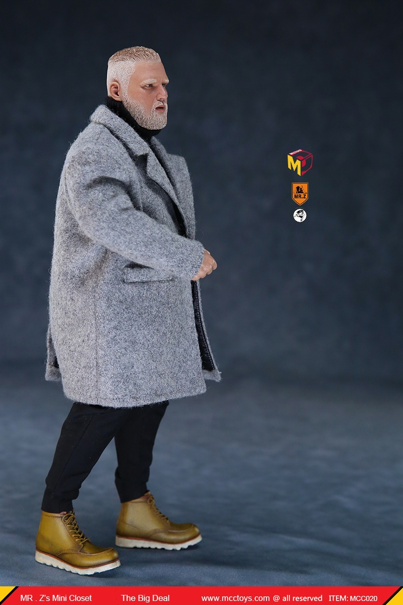 MCCCToys - NEW PRODUCT: MCCToys x Mr.Z: 1/6 Z's mini closet series - big suit version, windbreaker version, casual version 21402210