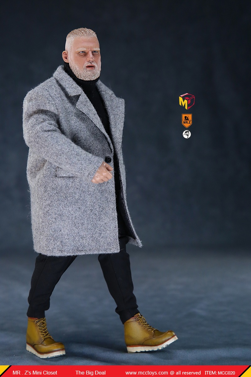 MCCCToys - NEW PRODUCT: MCCToys x Mr.Z: 1/6 Z's mini closet series - big suit version, windbreaker version, casual version 21402410