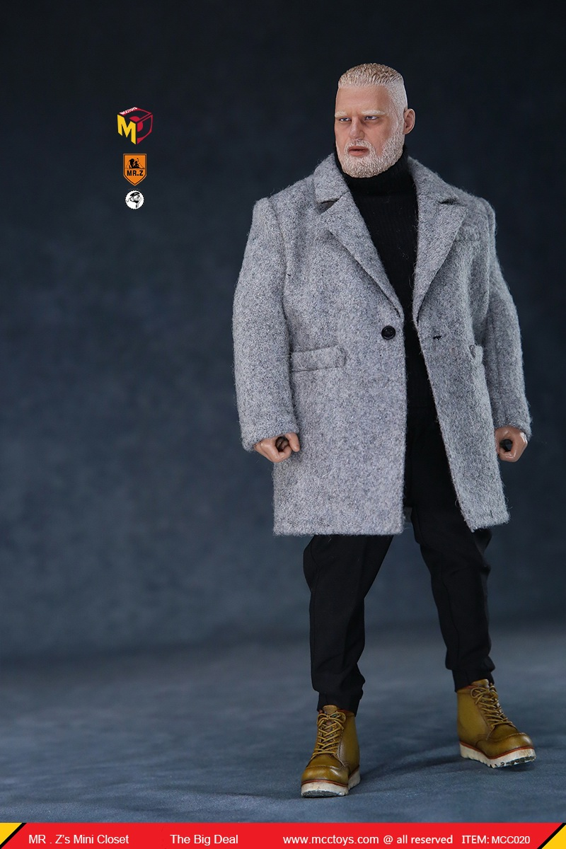 MCCCToys - NEW PRODUCT: MCCToys x Mr.Z: 1/6 Z's mini closet series - big suit version, windbreaker version, casual version 21403510