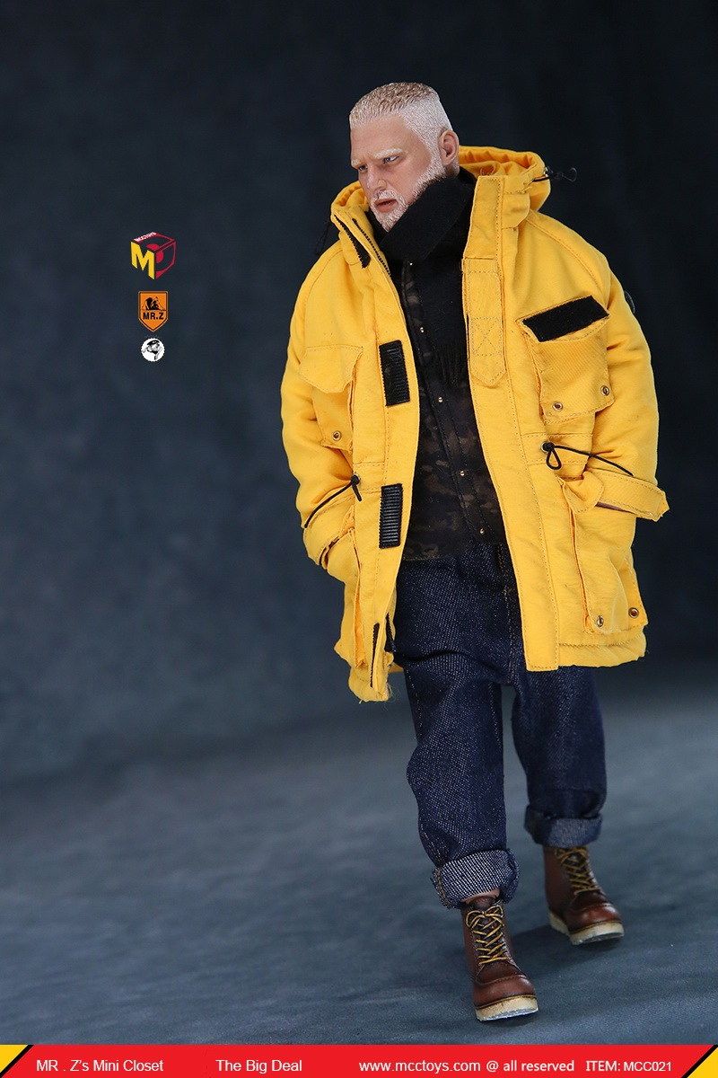 MCCCToys - NEW PRODUCT: MCCToys x Mr.Z: 1/6 Z's mini closet series - big suit version, windbreaker version, casual version 21414910