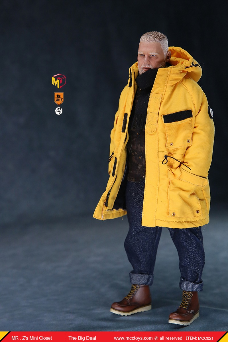 MCCCToys - NEW PRODUCT: MCCToys x Mr.Z: 1/6 Z's mini closet series - big suit version, windbreaker version, casual version 21415510
