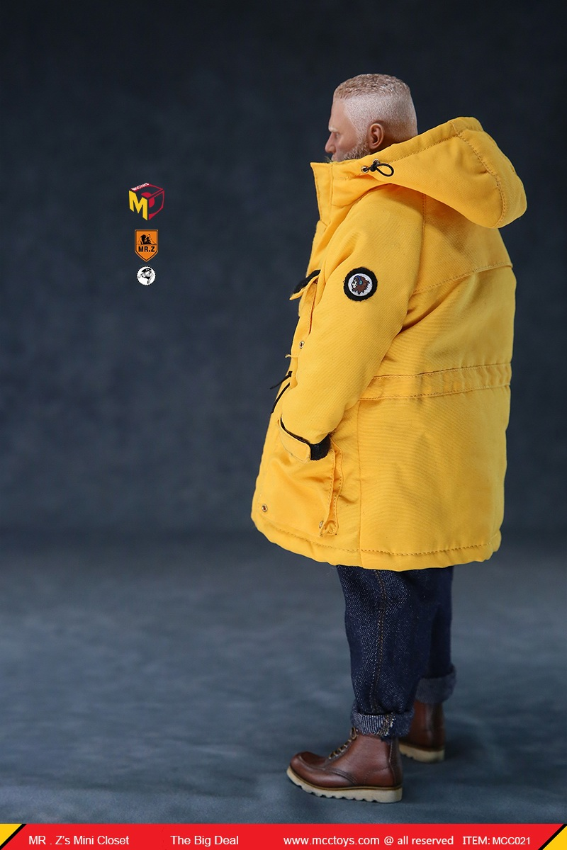 MCCCToys - NEW PRODUCT: MCCToys x Mr.Z: 1/6 Z's mini closet series - big suit version, windbreaker version, casual version 21415610