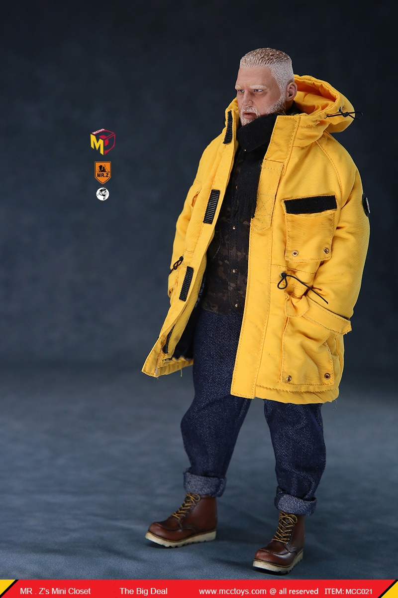 MCCCToys - NEW PRODUCT: MCCToys x Mr.Z: 1/6 Z's mini closet series - big suit version, windbreaker version, casual version 21415710