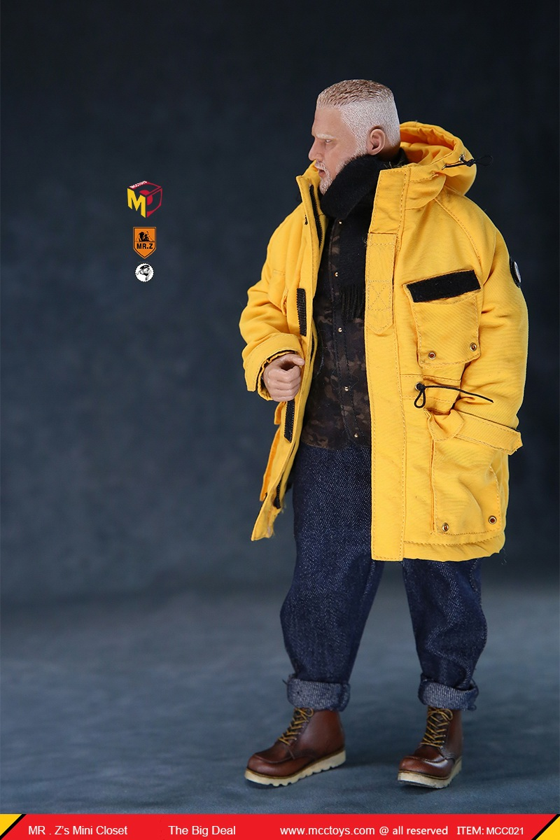 MCCCToys - NEW PRODUCT: MCCToys x Mr.Z: 1/6 Z's mini closet series - big suit version, windbreaker version, casual version 21415910