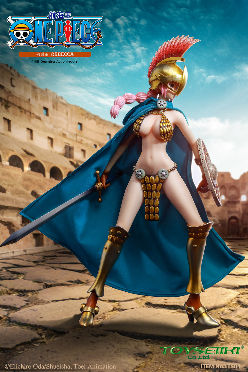 "One-Piece - NEW PRODUCT: TOYSEIIKI New product: 1/6 ""One Piece"" genuine license - Sword Fighter Rebecca (double head carved single body) 2142"