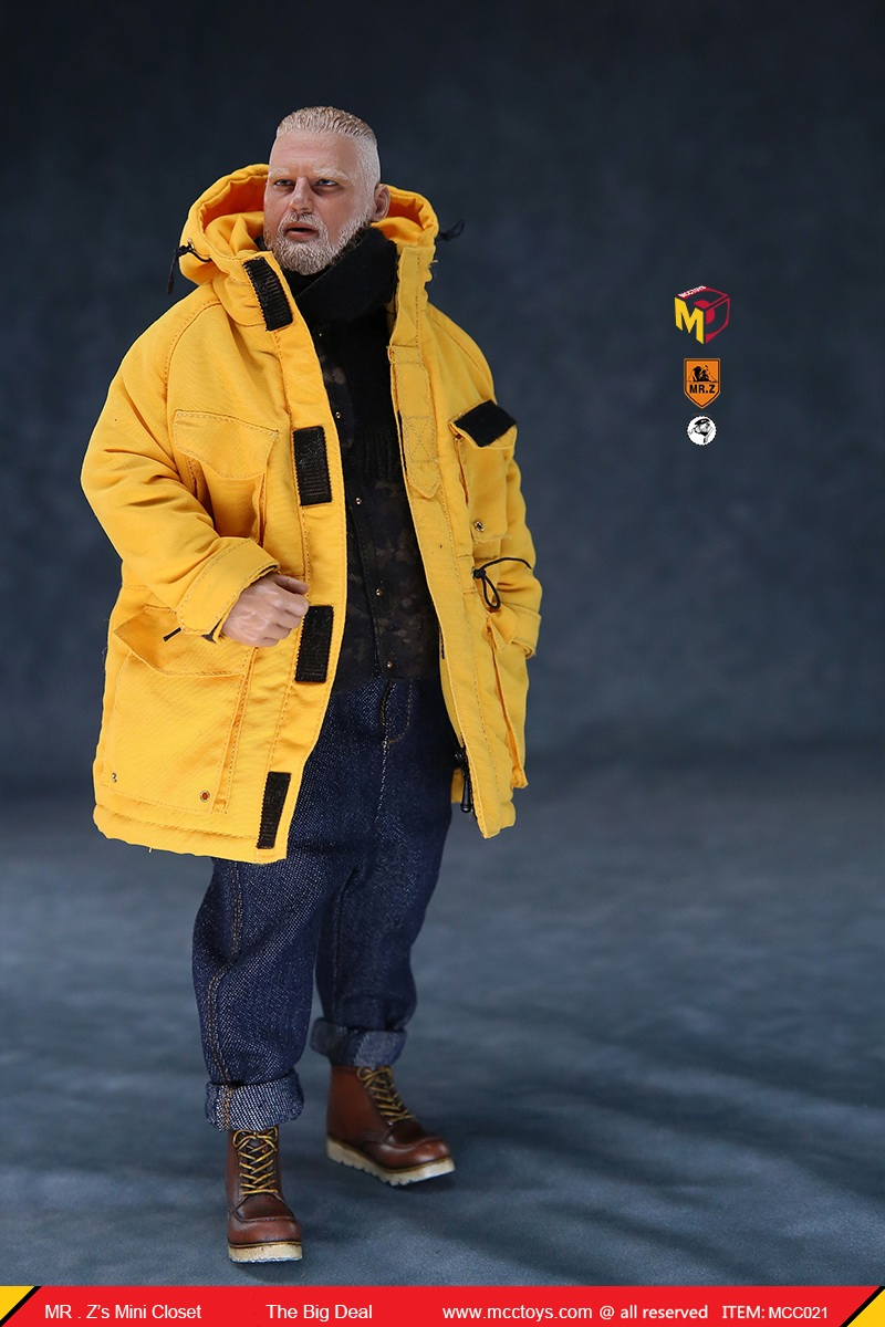 MCCCToys - NEW PRODUCT: MCCToys x Mr.Z: 1/6 Z's mini closet series - big suit version, windbreaker version, casual version 21420710