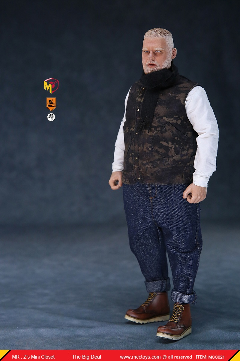 MCCCToys - NEW PRODUCT: MCCToys x Mr.Z: 1/6 Z's mini closet series - big suit version, windbreaker version, casual version 21421210