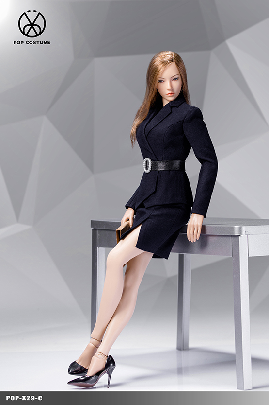 clothes - NEW PRODUCT: POPTOYS: 1/6 Office Girl - Women's Suit Set X29 Skirt & X30 Trousers 21422111