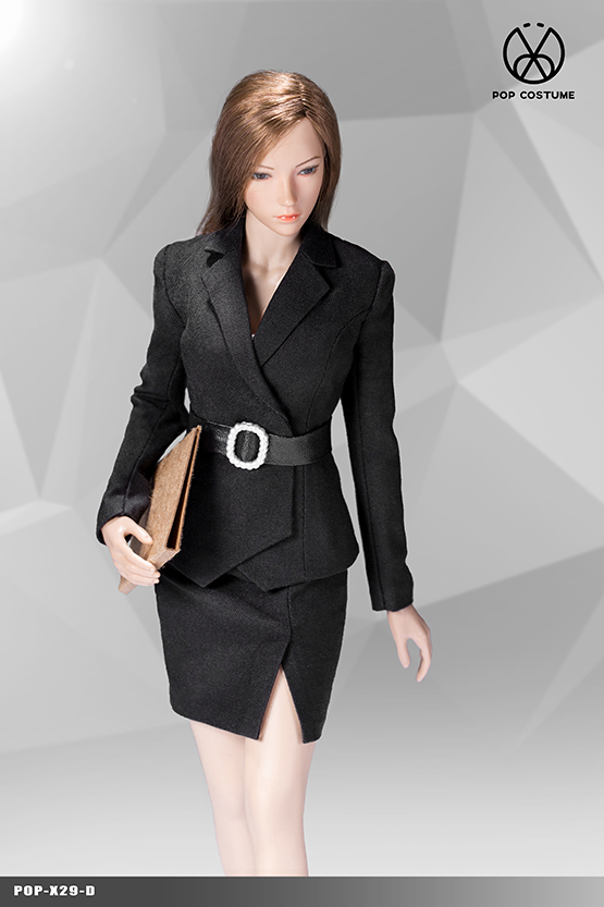 NEW PRODUCT: POPTOYS: 1/6 Office Girl - Women's Suit Set X29 Skirt & X30 Trousers 21422310