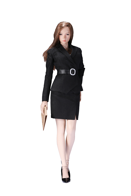 NEW PRODUCT: POPTOYS: 1/6 Office Girl - Women's Suit Set X29 Skirt & X30 Trousers 21422411